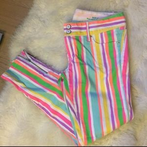 Rainbow Striped Lilly Pulitzer Jeans
